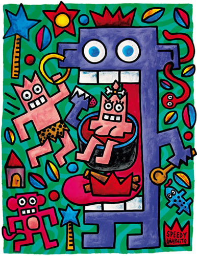 speedy graphito street art